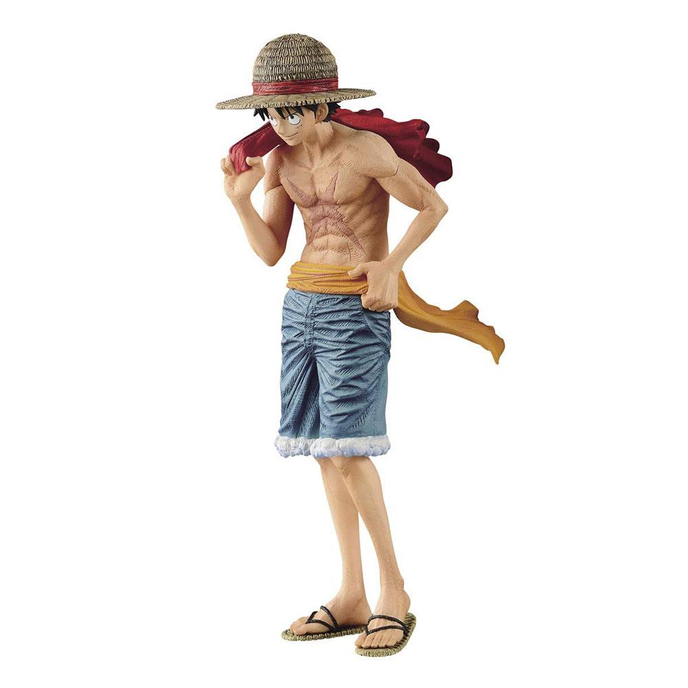 Muñeco Luffy de One Piece magazine