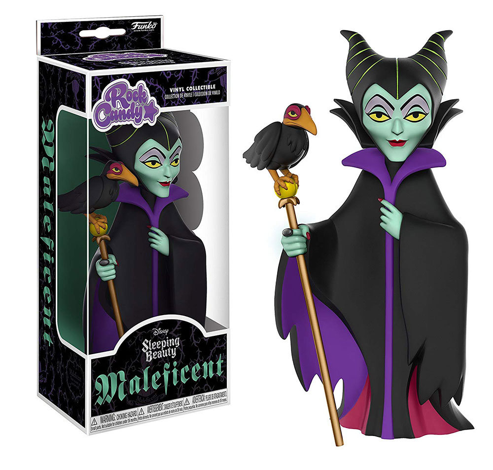 Muñeco de Maleficent Funko Rock Candy