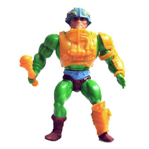 Muñeco de Man-at-Arms vintage