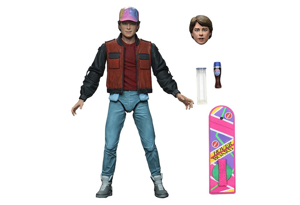 Muñeco de Marty McFly Volver al Futuro 2 NECA
