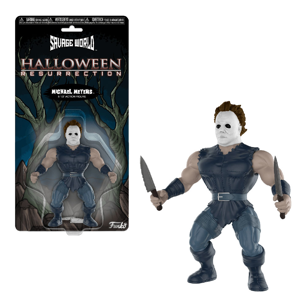 Muñeco de Michael Myers Halloween Savage World