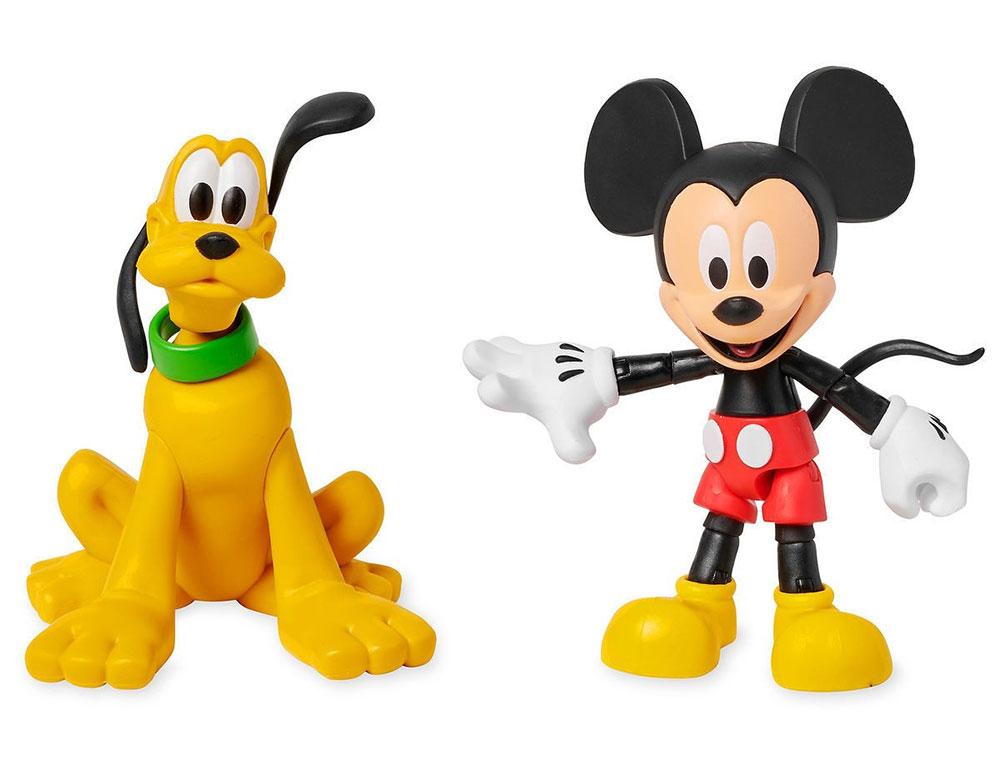 Muñecos de Mickey Mouse y Pluto Disney Toybox
