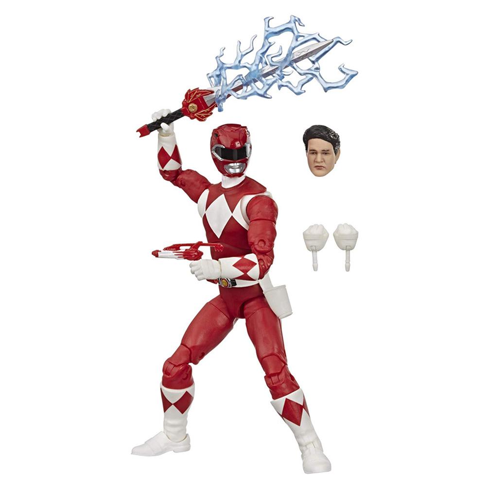 Muñeco Mighty Morphin Red Ranger