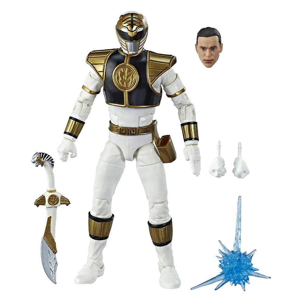 Muñeco Mighty Morphin White Ranger