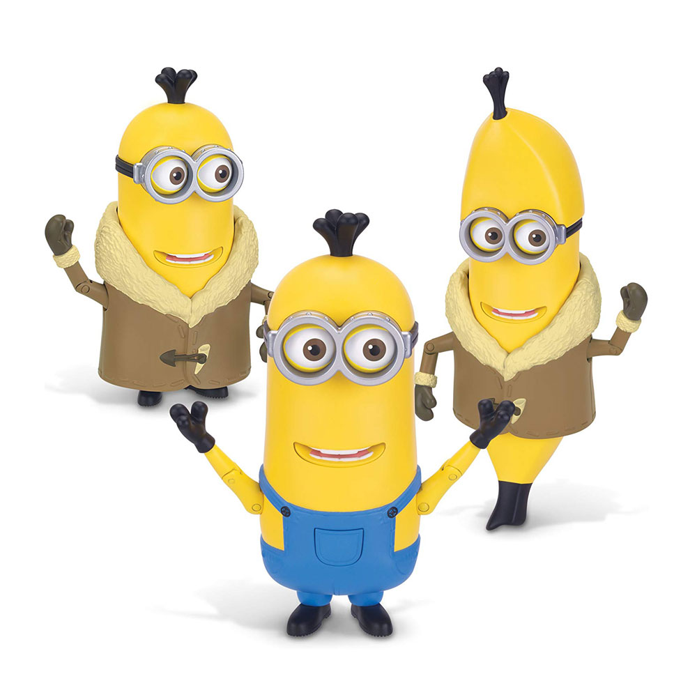 Muñeco Construye un Minion Kevin y banana
