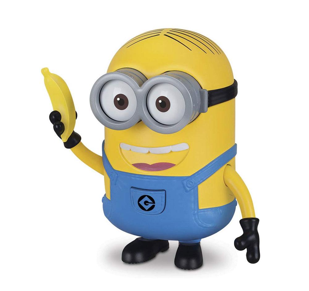 Muñeco Minions Dave con banana