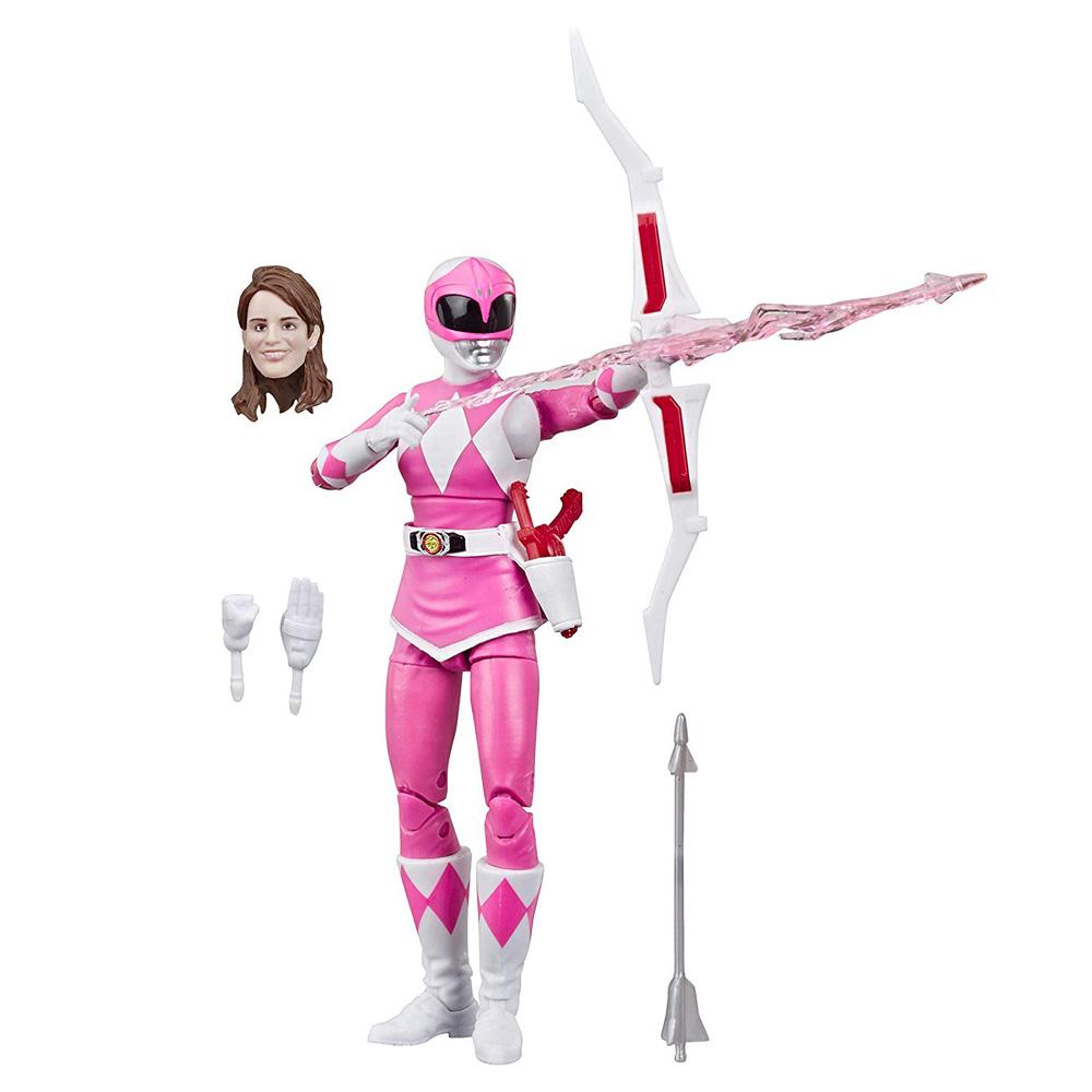 Muñeco Mighty Morphin Pink Ranger