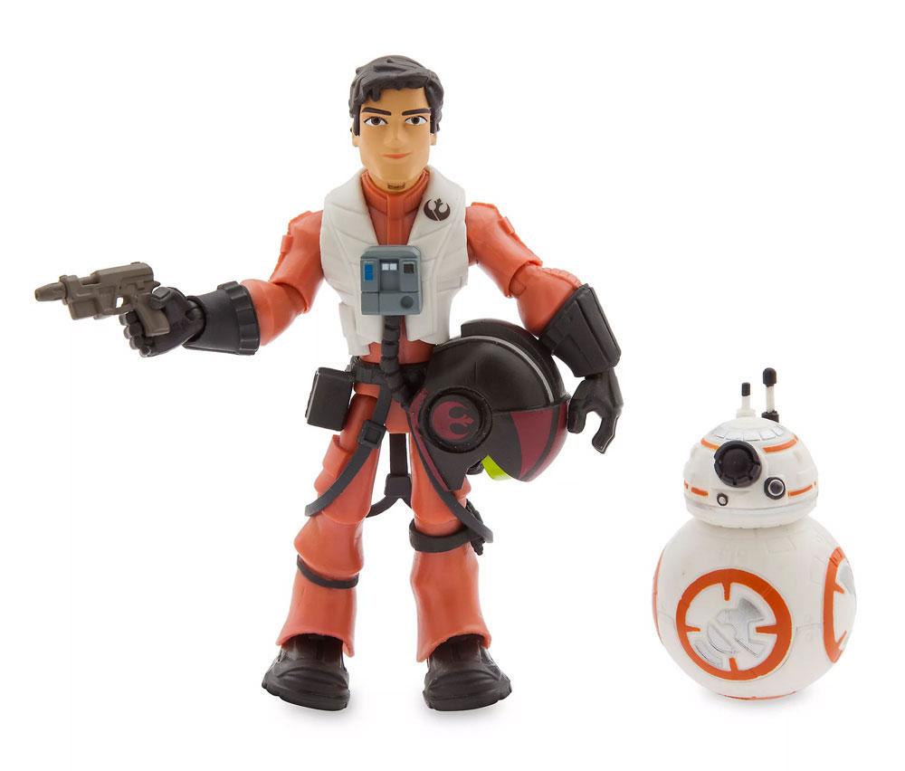 Muñecos de Poe Dameron y BB-8 Star Wars Toybox