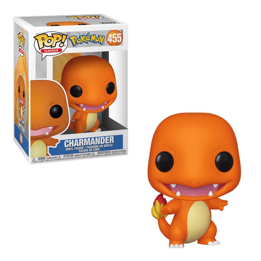 Muñeco Charmander Funko Pop Pokémon
