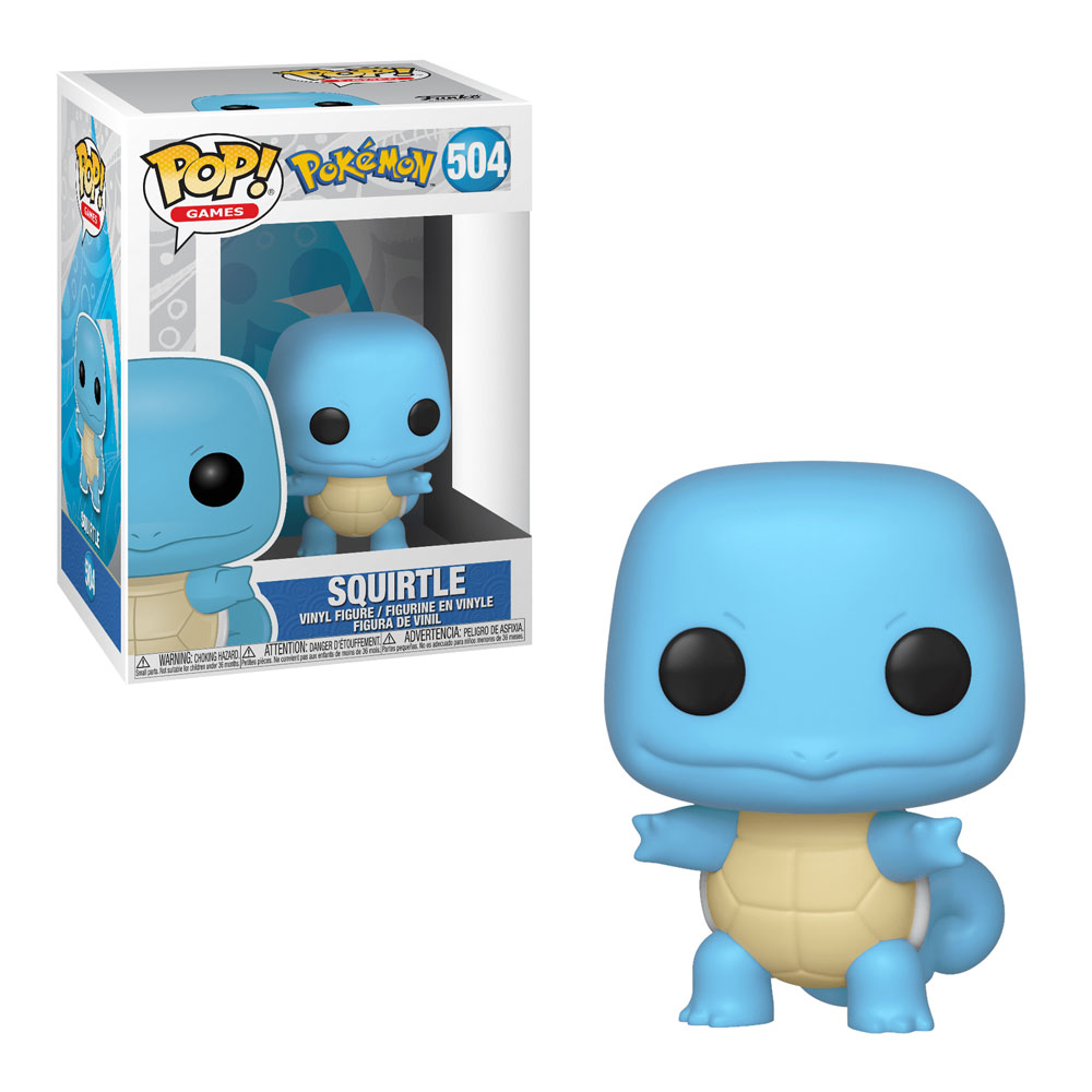Muñeco Squirtle Funko Pop Pokémon