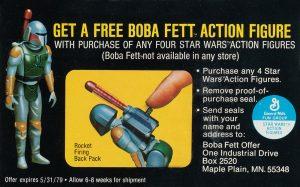 Muñeco prototipo Rocket-Firing Boba Fett Star Wars