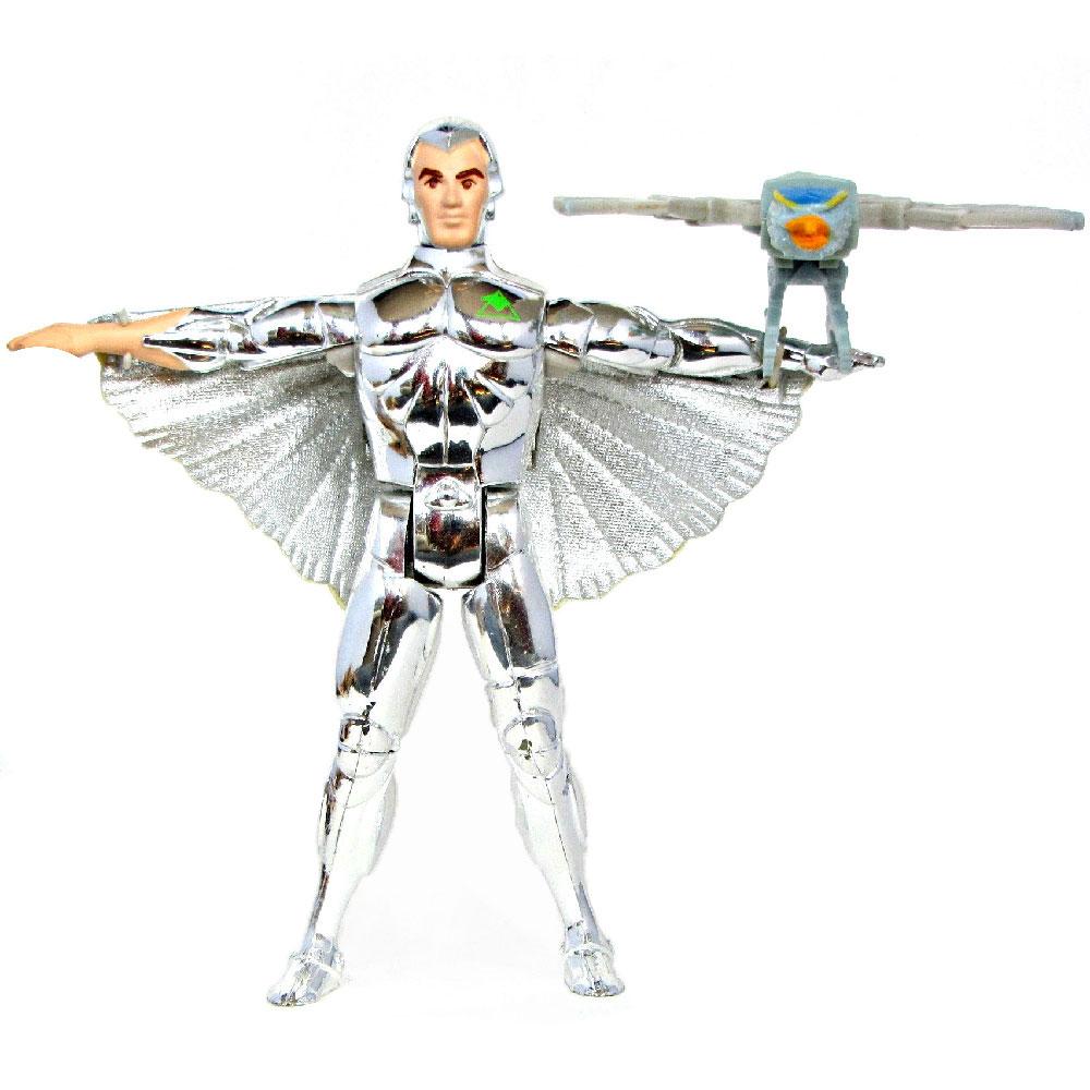 Muñeco de Quicksilver (Rayo de Plata) Halcones Galácticos