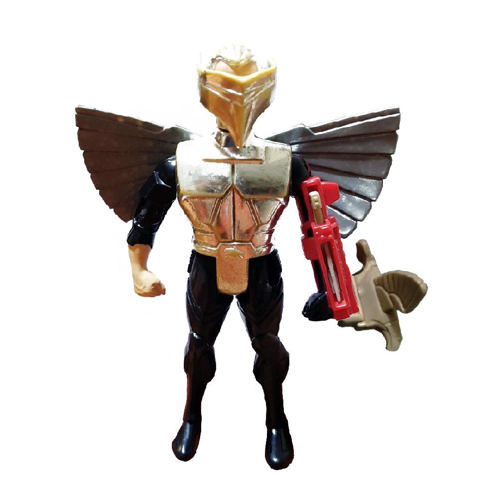 Muñeco de Quicksilver (Rayo de Plata) Ultrasonic Suit Halcones Galácticos