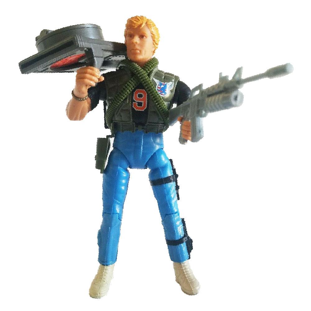Muñeco de T.D. Jackson - Rambo