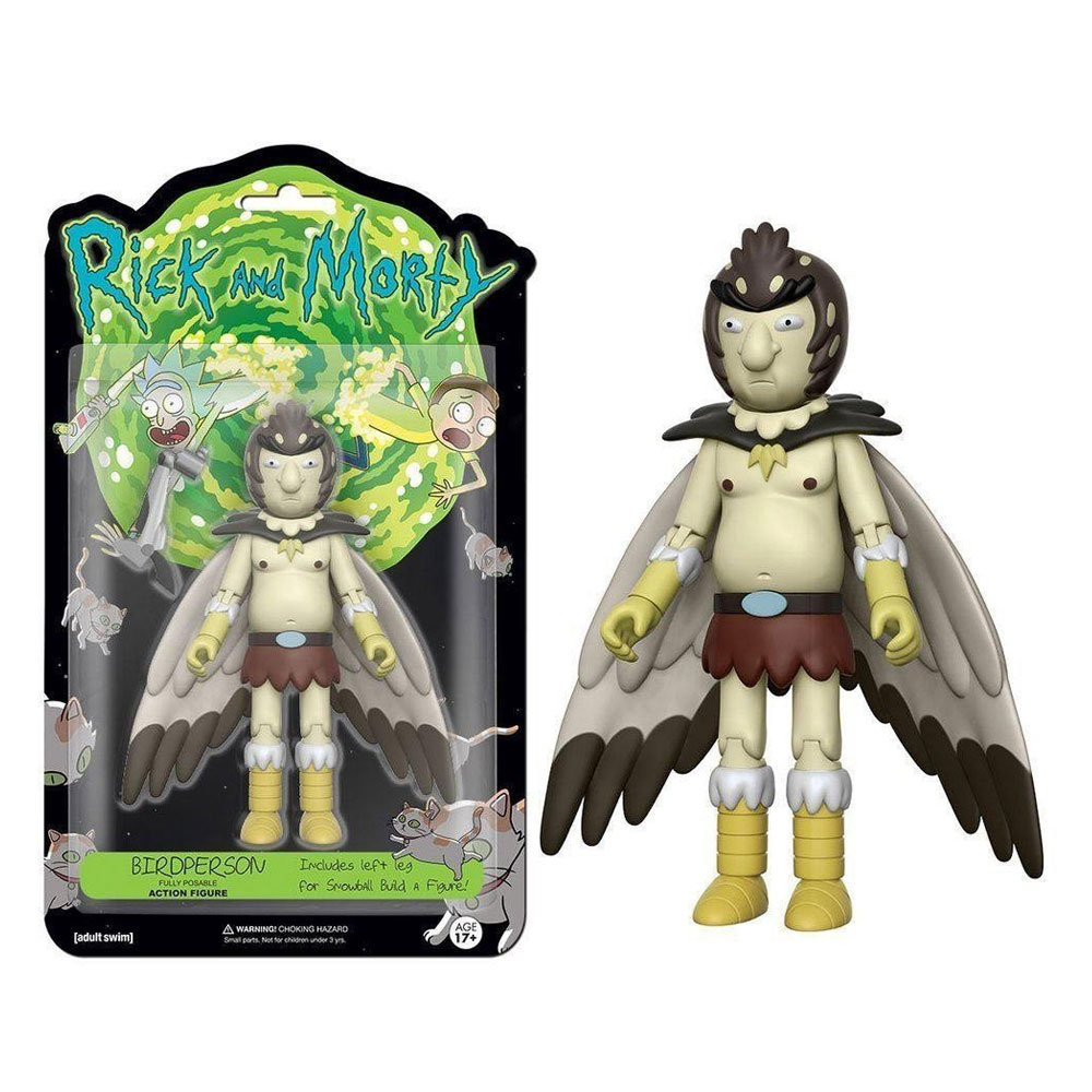 Muñeco Rick and Morty - Birdperson
