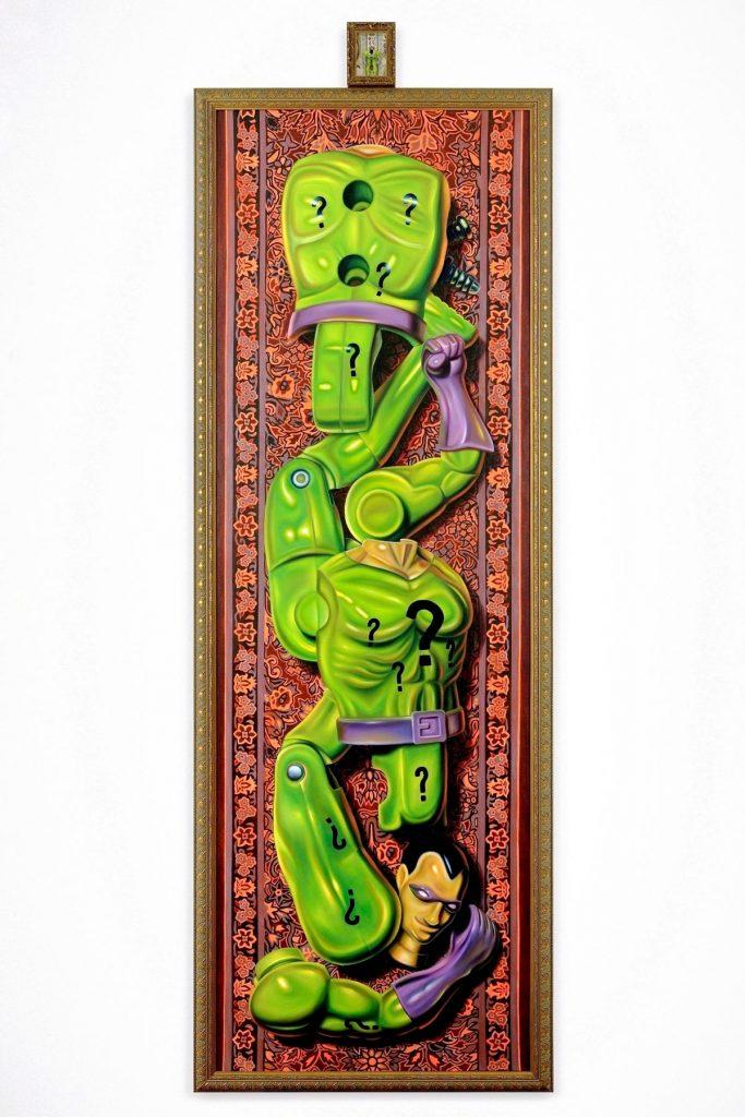Muñeco Riddler (Acertijo) de Super Amigos, por Robert Burden