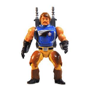 Muñeco de Rio Blast He-Man MOTU vintage