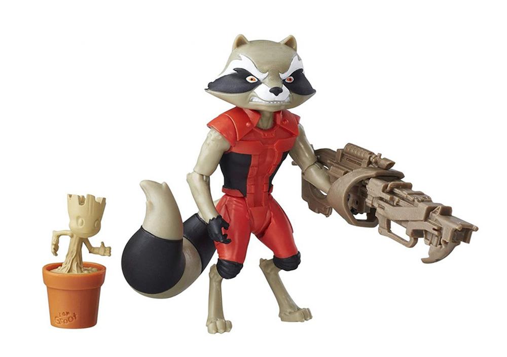 Muñeco de Rocket Guardianes de la Galaxia