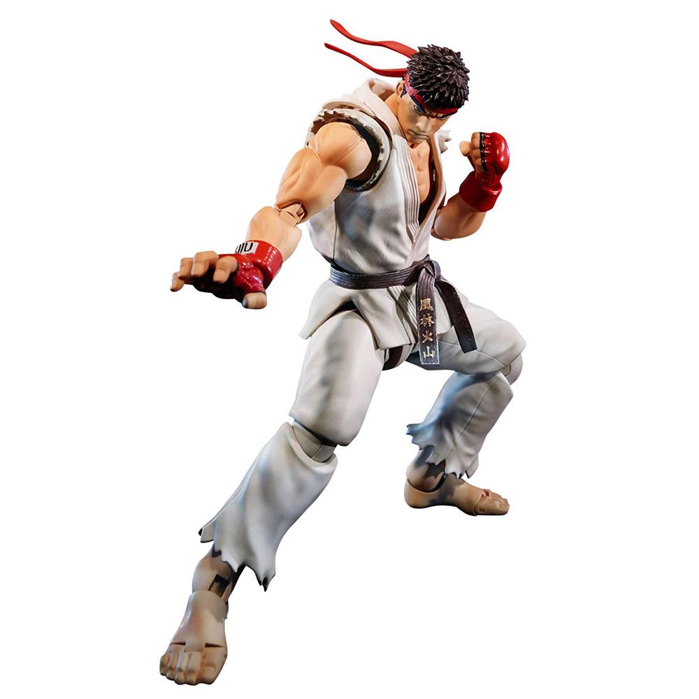 Muñeco de Ryu Street Fighter S.H. Figuarts Bandai