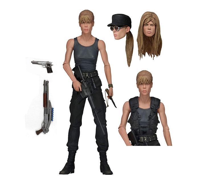 Muñeco de Sarah Connor Terminator NECA