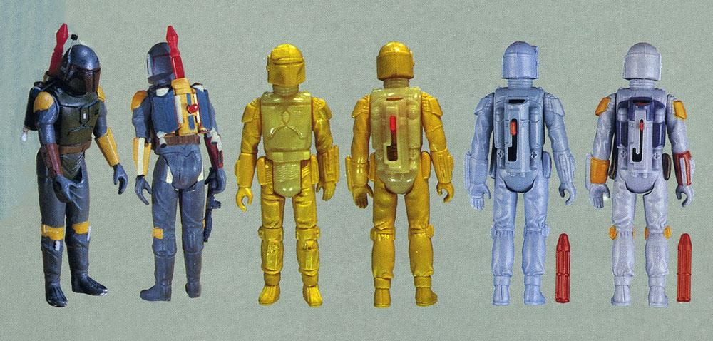 Prototipos de muñeco Rocket-Firing Boba Fett