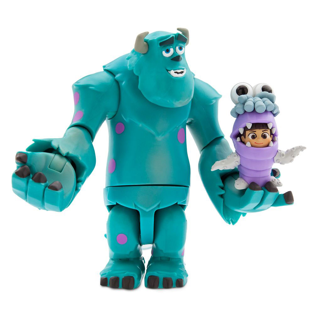Muñecos de Sully y Boo Monsters Inc. Disney Toybox