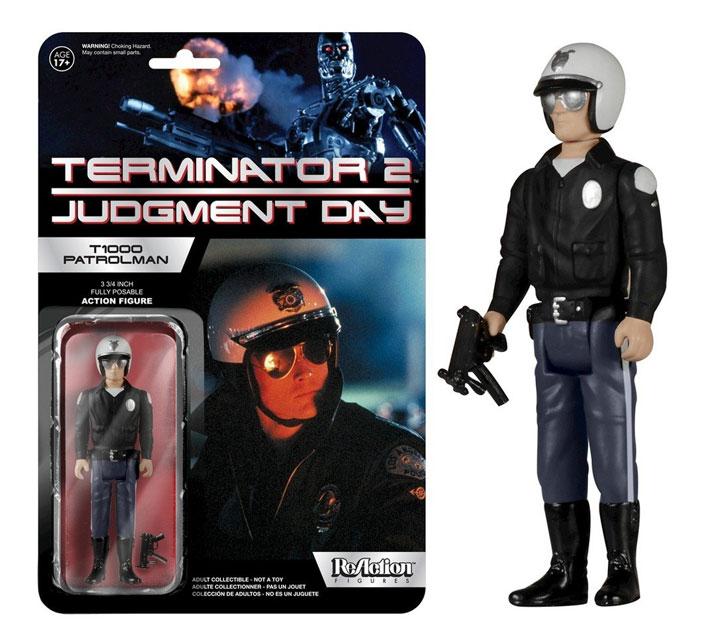 Muñeco T1000 Patrolman Terminator 2