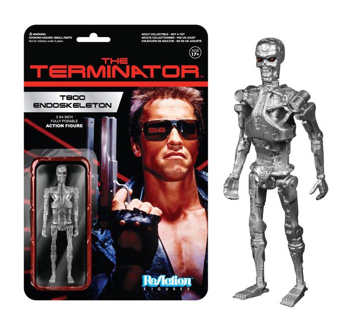 Muñeco T800 Endoskeleton Terminator