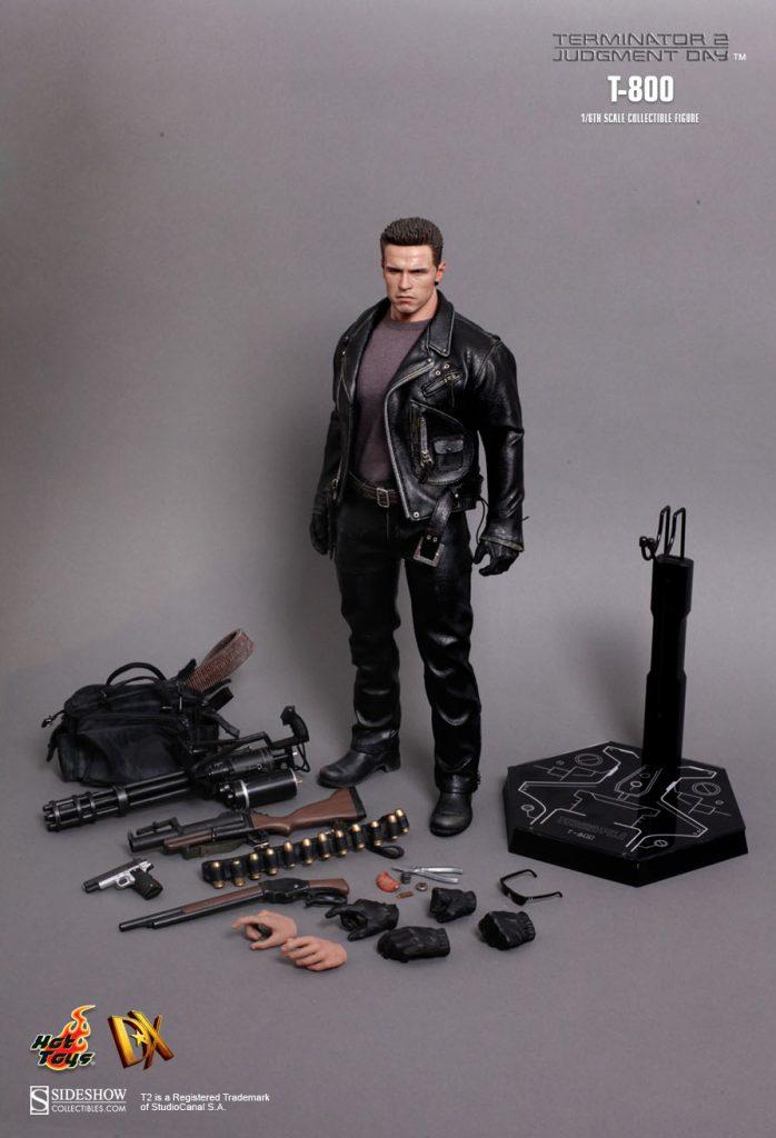 Muñeco T-800 de Hot Toys Movie Masterpiece Terminator 2