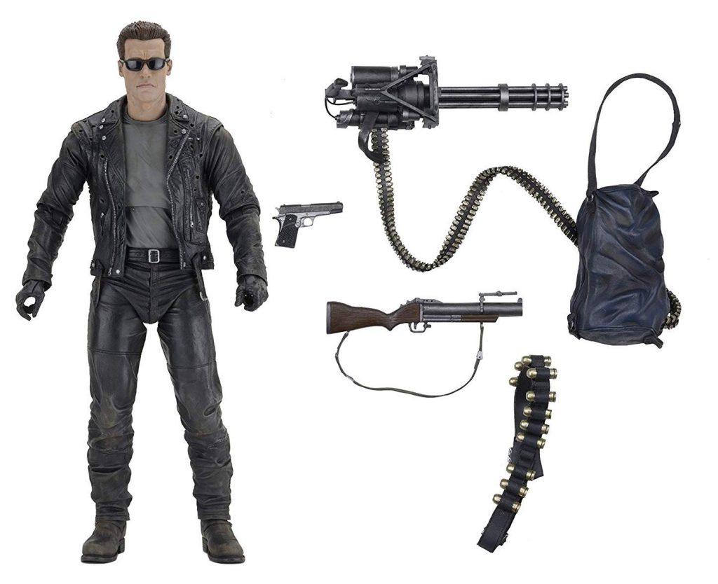 "Muñeco T-800 de NECA 19"" Terminator 2"