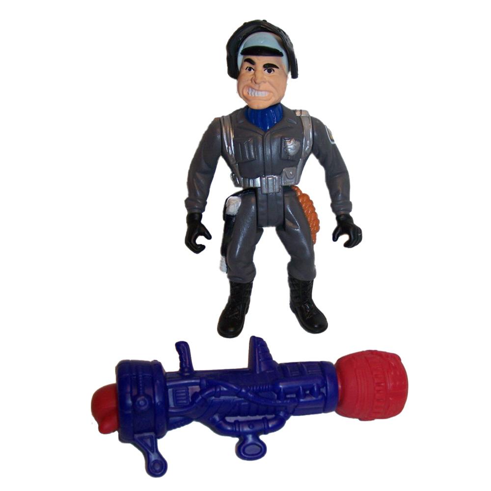 Muñeco S.W.A.T. Eugene Tackleberry (Fistzooka) Locademia de Policía