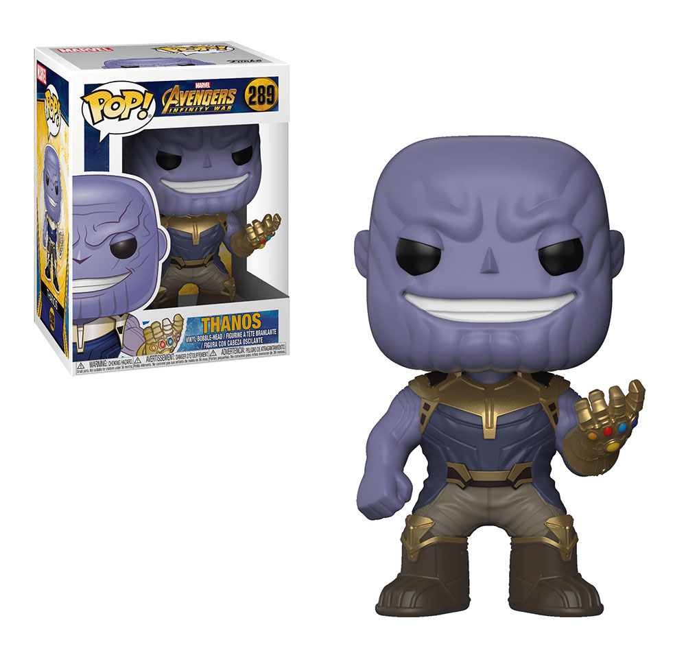 Muñeco Thanos Funko Pop Infinity War