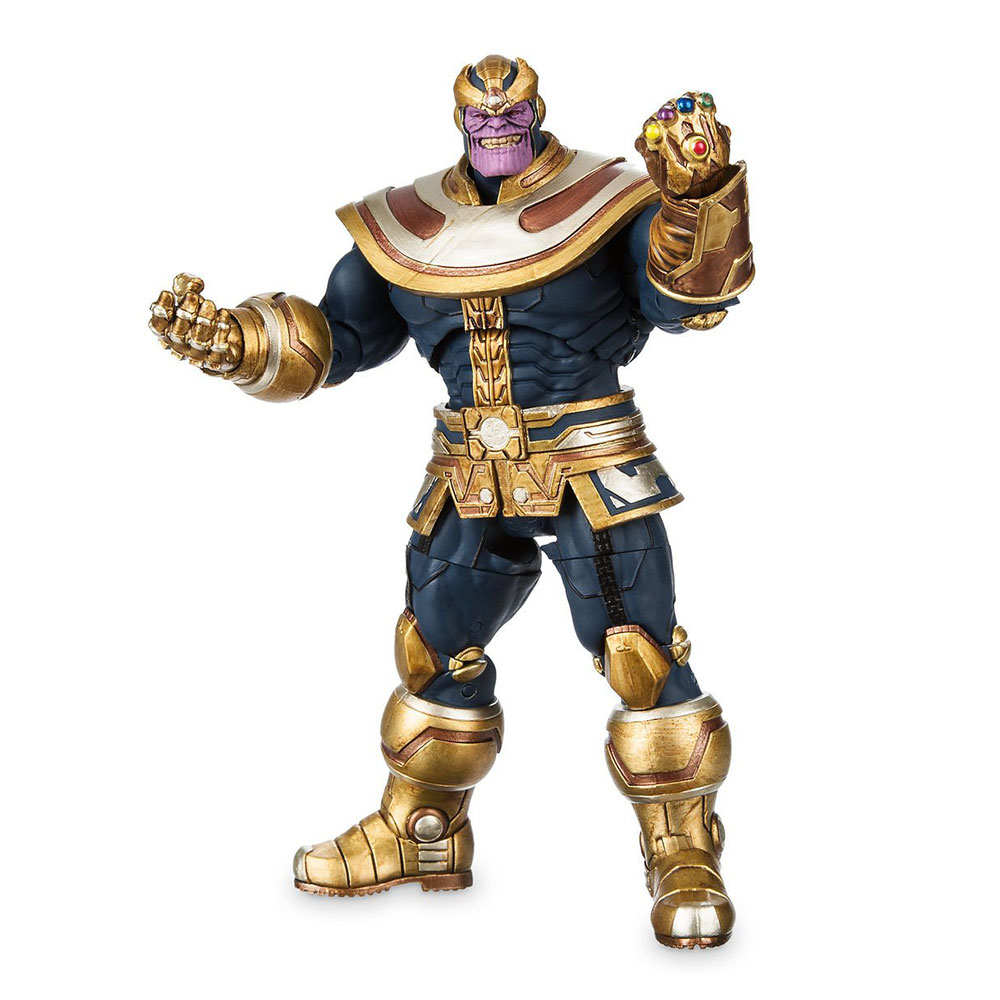 Muñeco de Thanos de Marvel Select