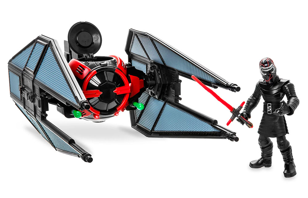 TIE Fighter y Kylo Ren Star Wars Toybox