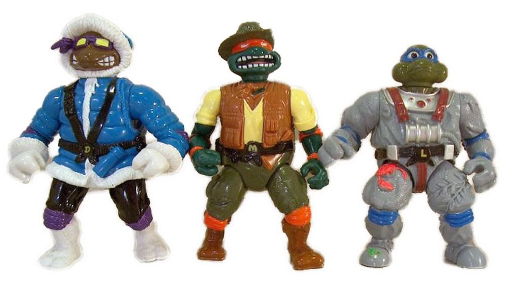 Muñecos de las Tortugas Ninja Adventurer Turtles TMNT