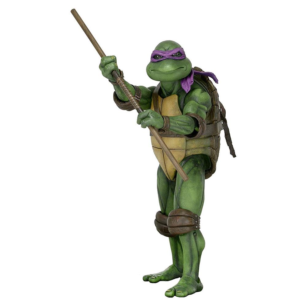 Muñeco de Donatello Tortugas Ninja NECA