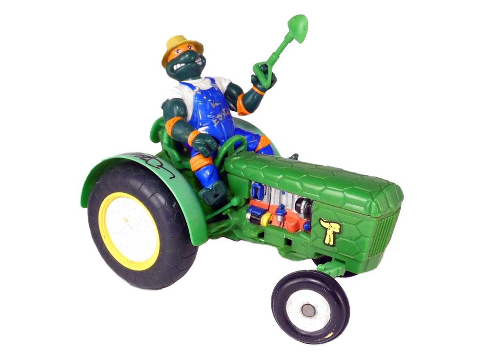 Muñeco de las Tortugas Ninja Farmer Mike TMNT