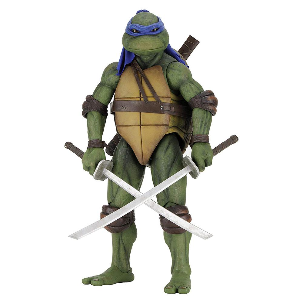 Muñeco de Leonardo Tortugas Ninja NECA