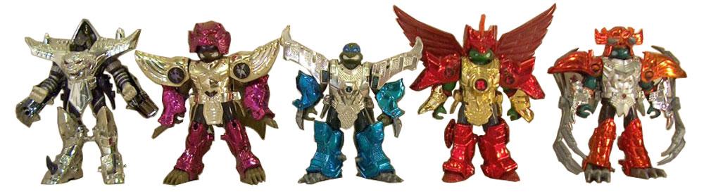 Muñecos de las Tortugas Ninja Metal Mutants TMNT