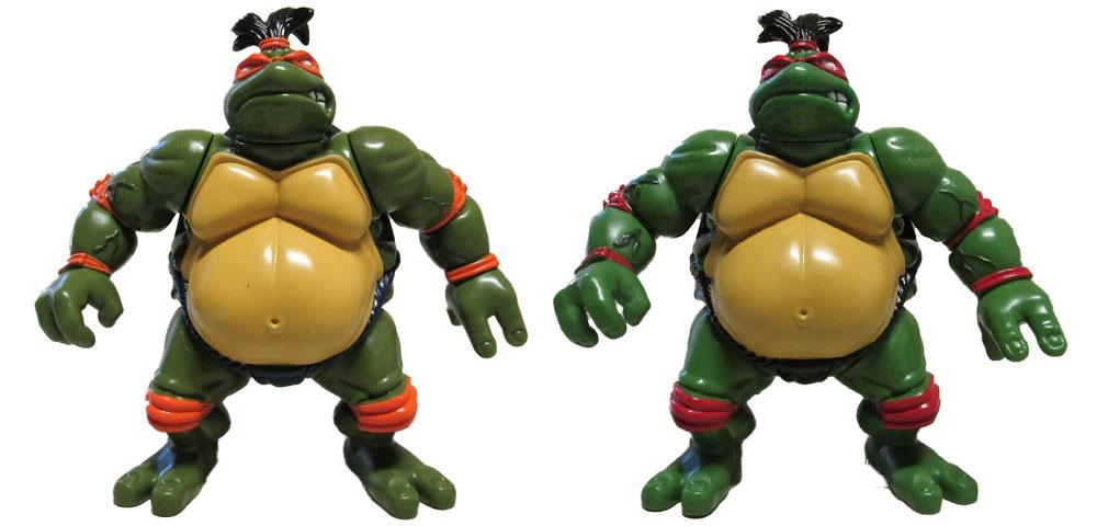 Muñecos de las Tortugas Ninja Sumo Turtles TMNT