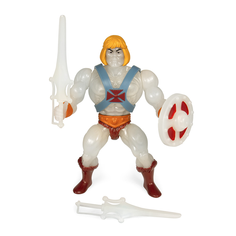Muñeco Transforming He-Man Super7 The Vintage Collection