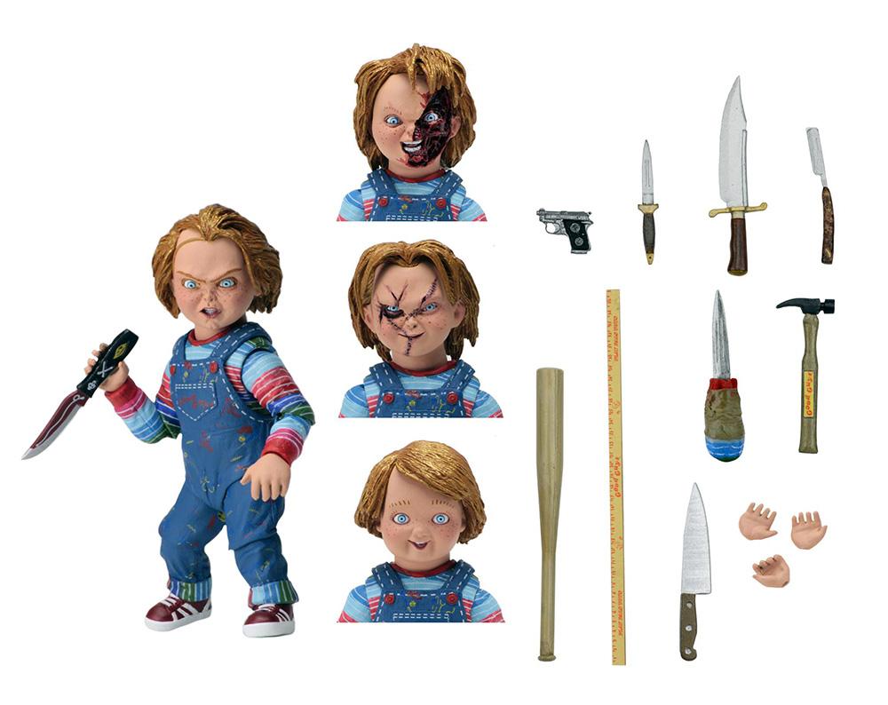 Muñeco Ultimate Chucky de NECA