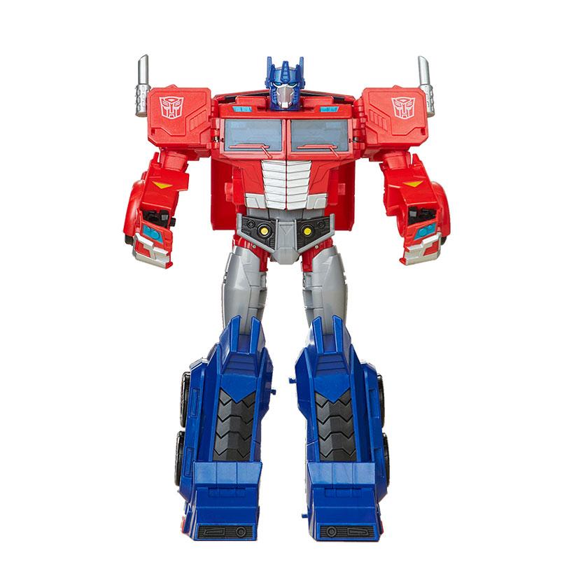 Muñeco Ultimate Optimus Prime Cyberverse