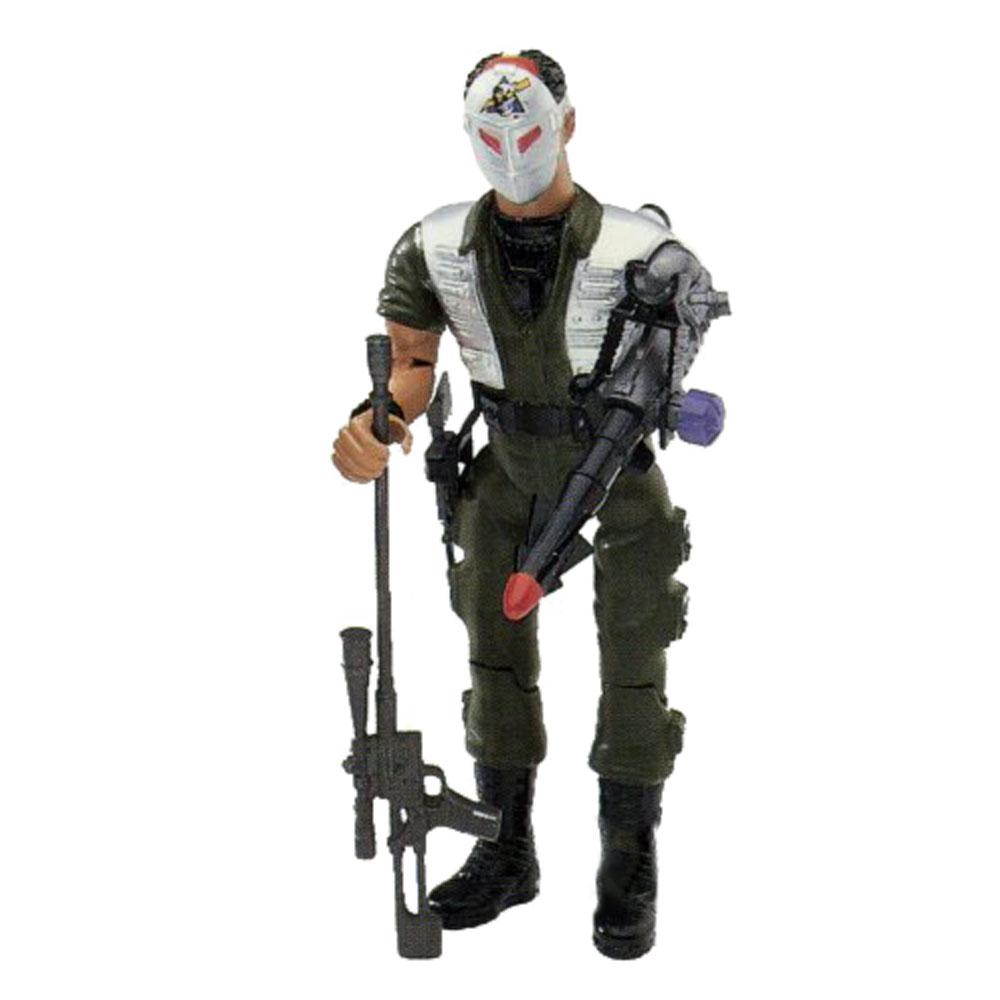 Muñeco de X-Ray - Rambo
