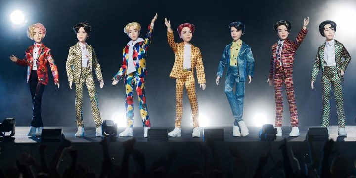 Muñecos de BTS de Mattel
