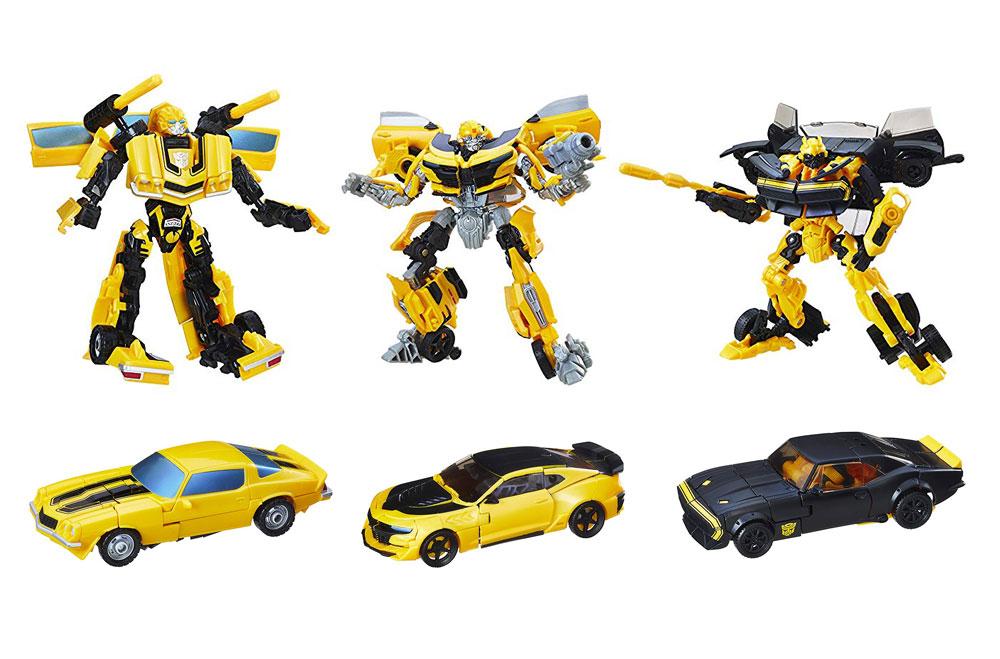 Muñecos de Bumblebee Transformers Tribute