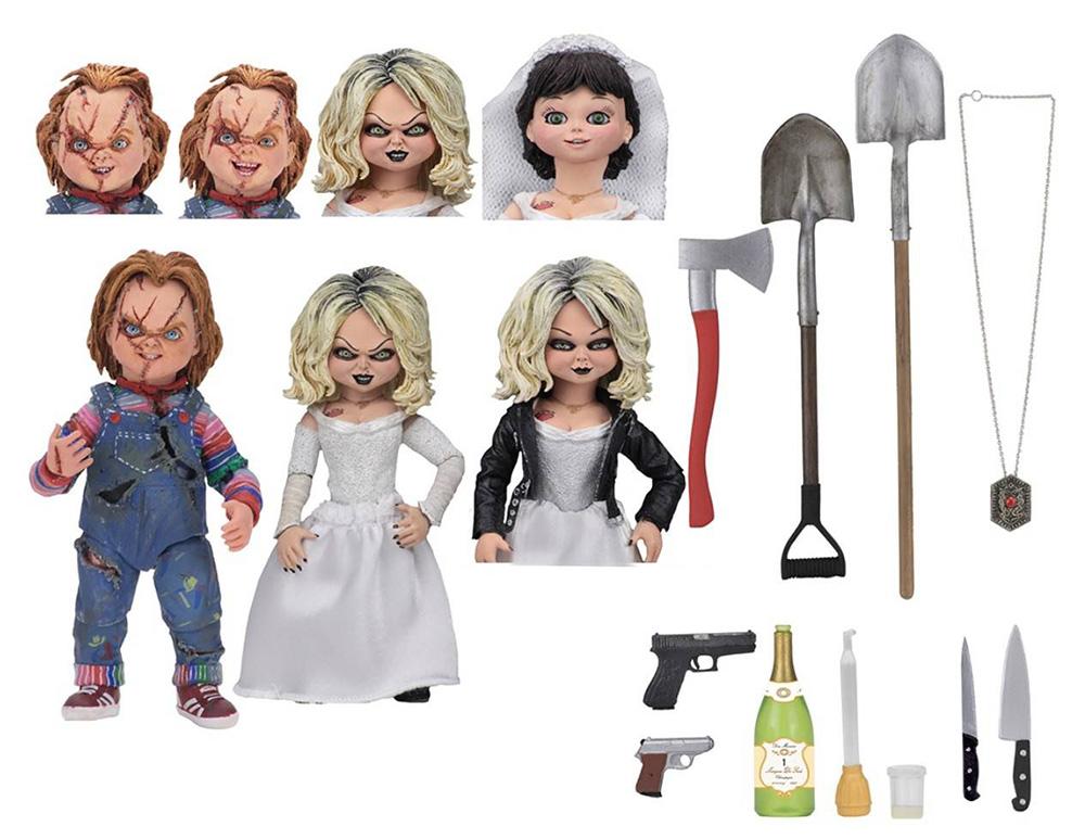 Muñecos de Chucky y Tiffany de NECA