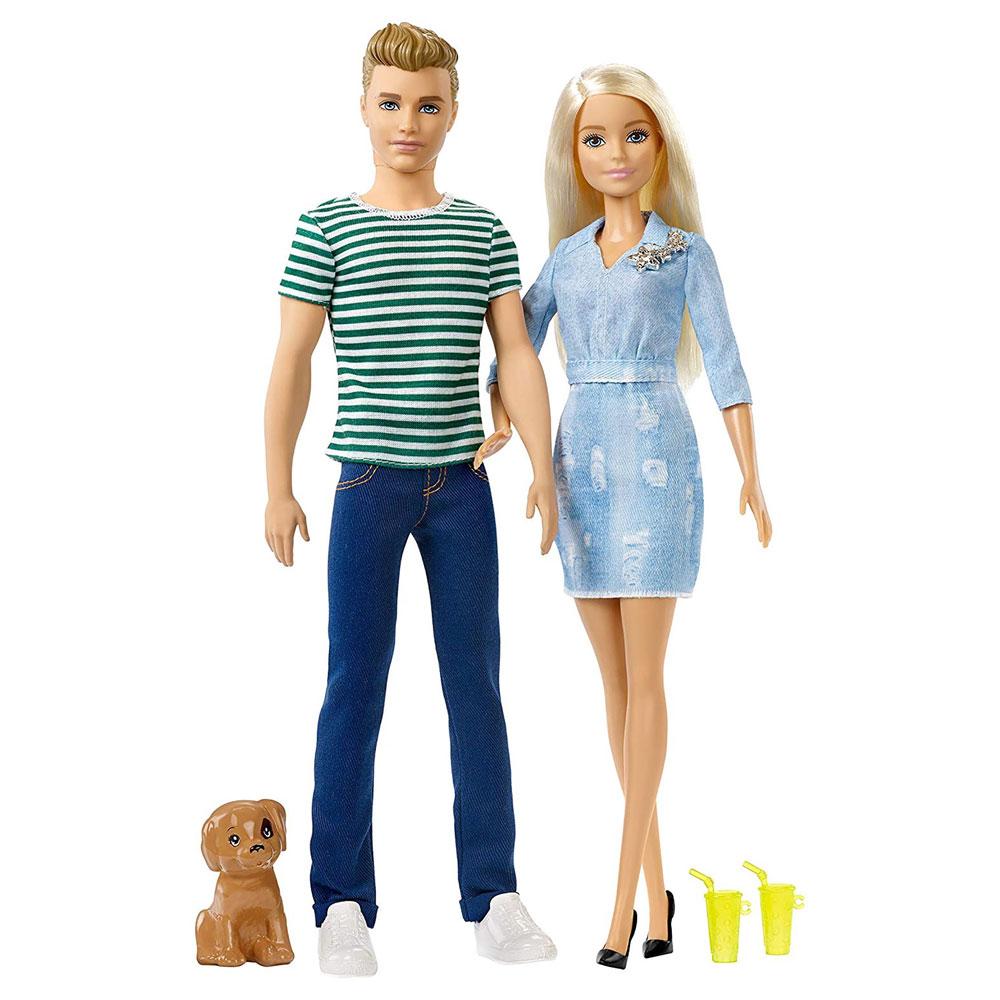 Muñecos de Barbie y Ken