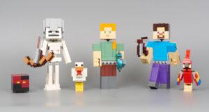 Muñecos de Minecraft