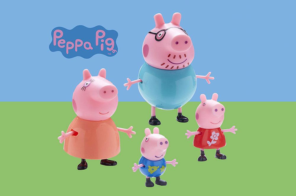 Muñecos y peluches de Peppa Pig
